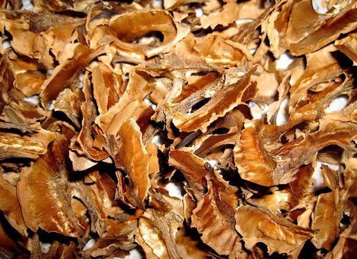 Перегородки ореха